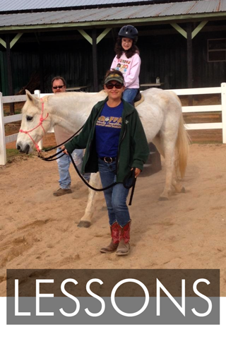 Therapeutic Riding Lessons in Upstate SC
